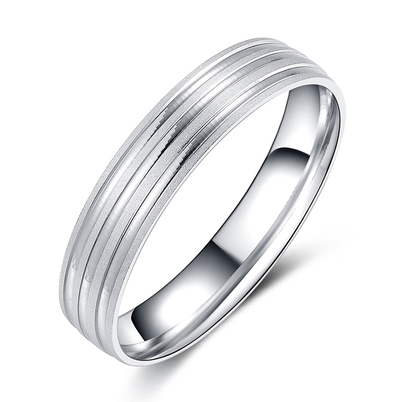 925 Sterling Silver Classic Band for Men