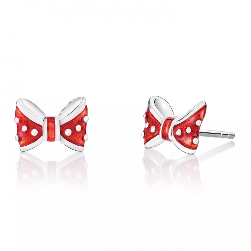 FINEFEY Lovely Bow Stud Earrings